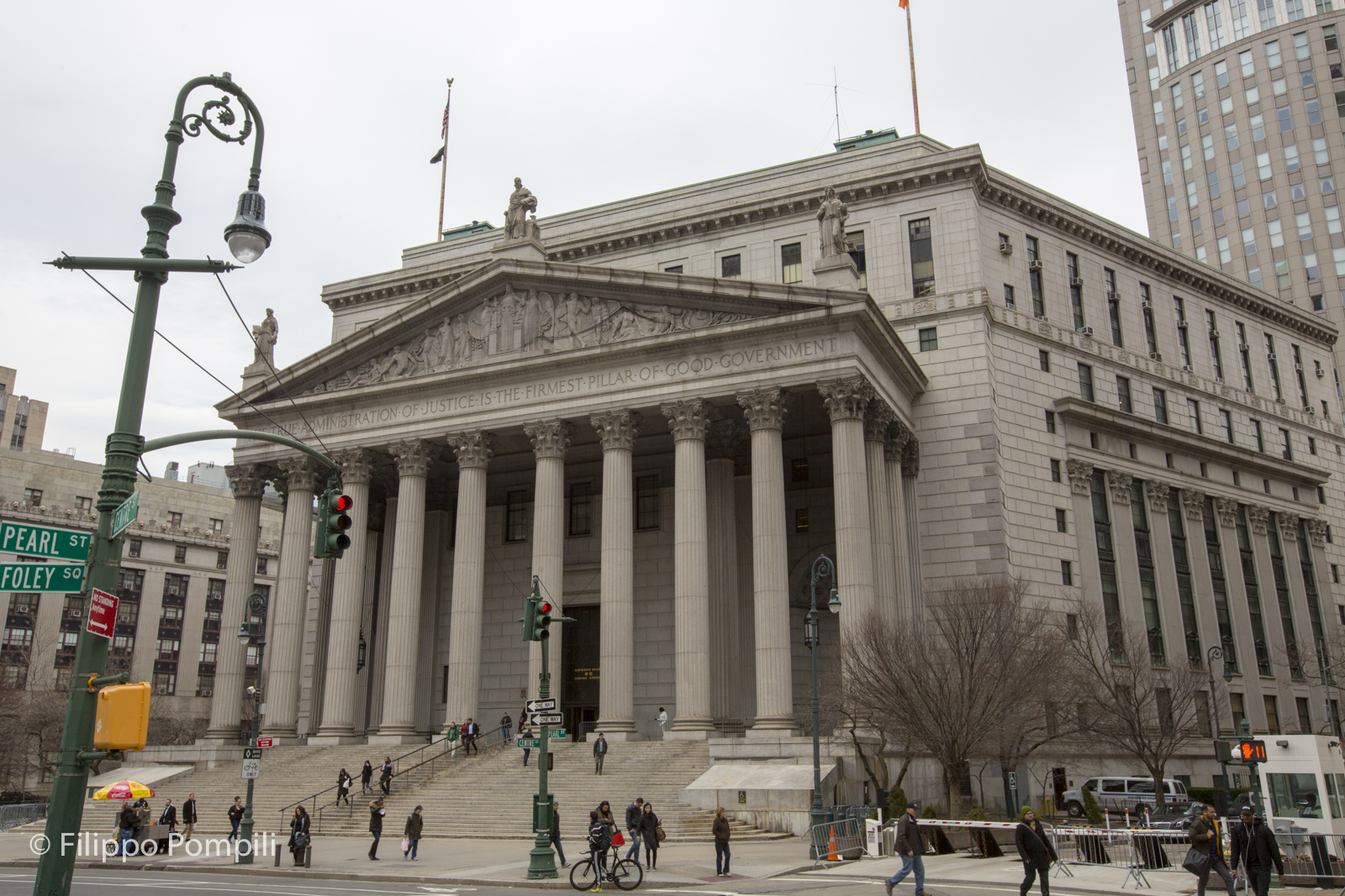 New York State Supreme Court (New York County Courthouse) - Foto Filippo Pompili